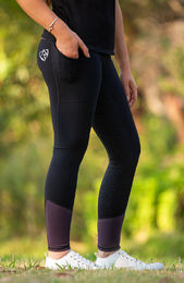 BARE Performance tights- Blackcurrant