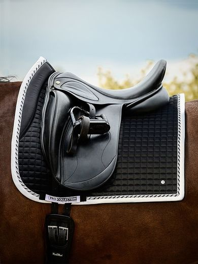 PRO saddlepad, Dressage Black PS of Sweden